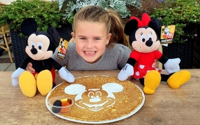 Mickey Mouse Pannenkoek